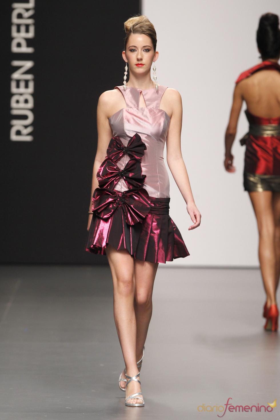 958b56ab0 Vestido de fiesta con el sello de Rubén Perlotti