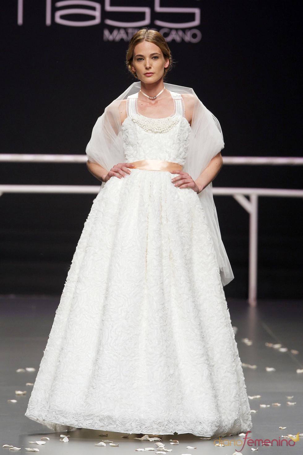 Vestido de novia de Matilde Cano