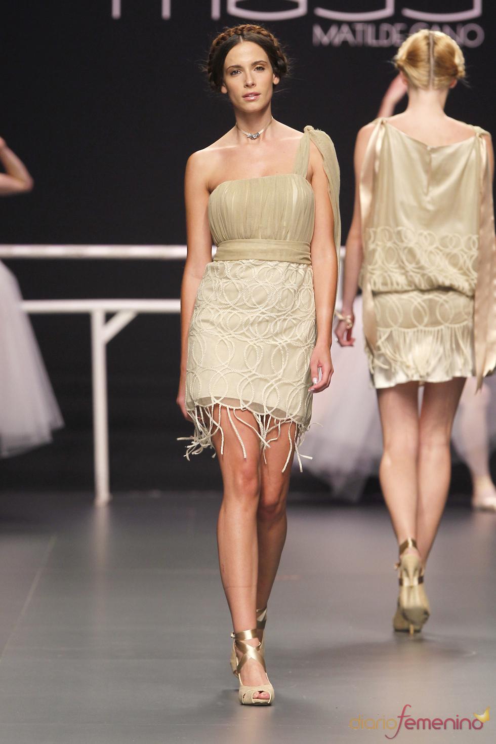 Vestido corto de Matilde Cano