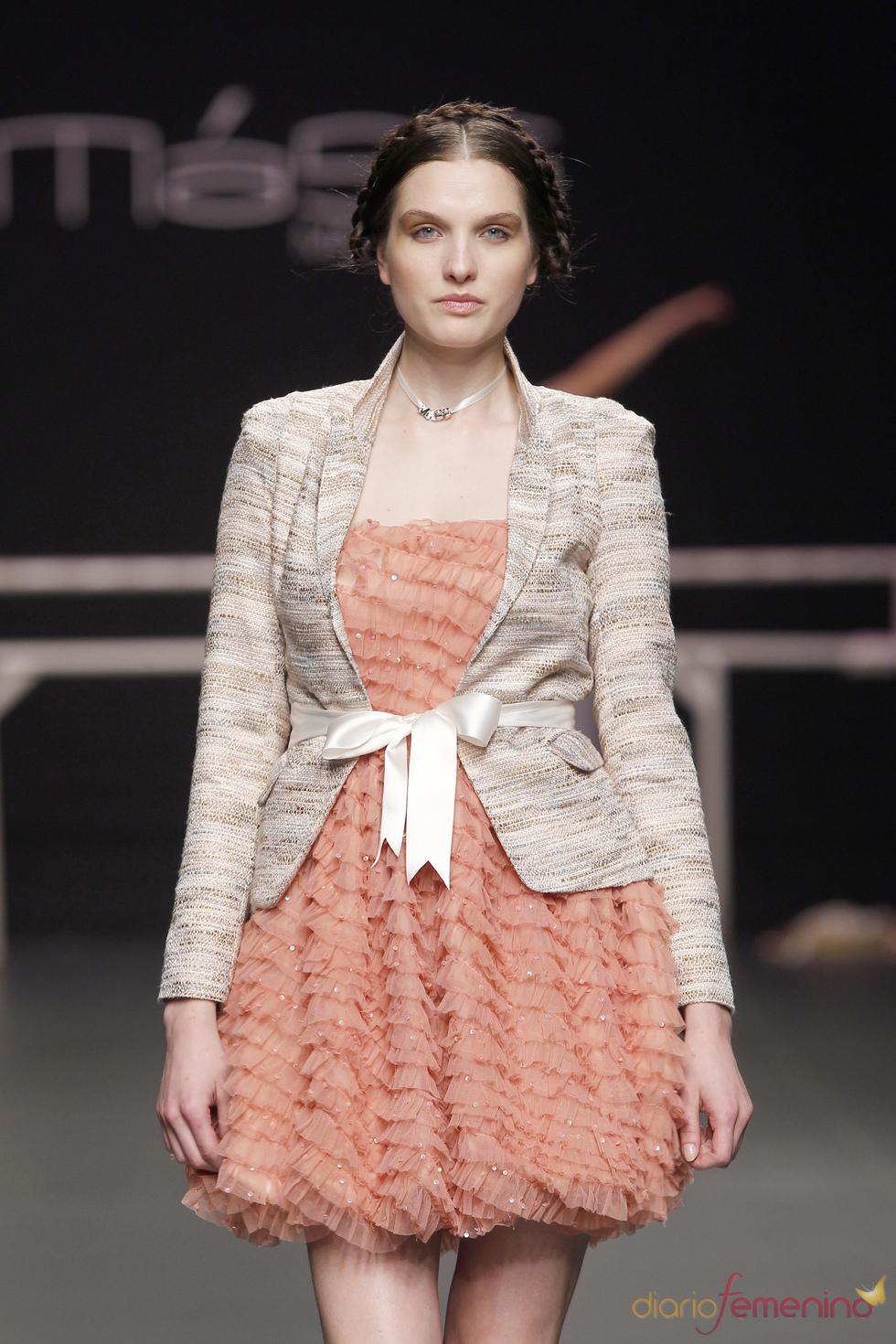 Vestido voluminoso de Matilde Cano
