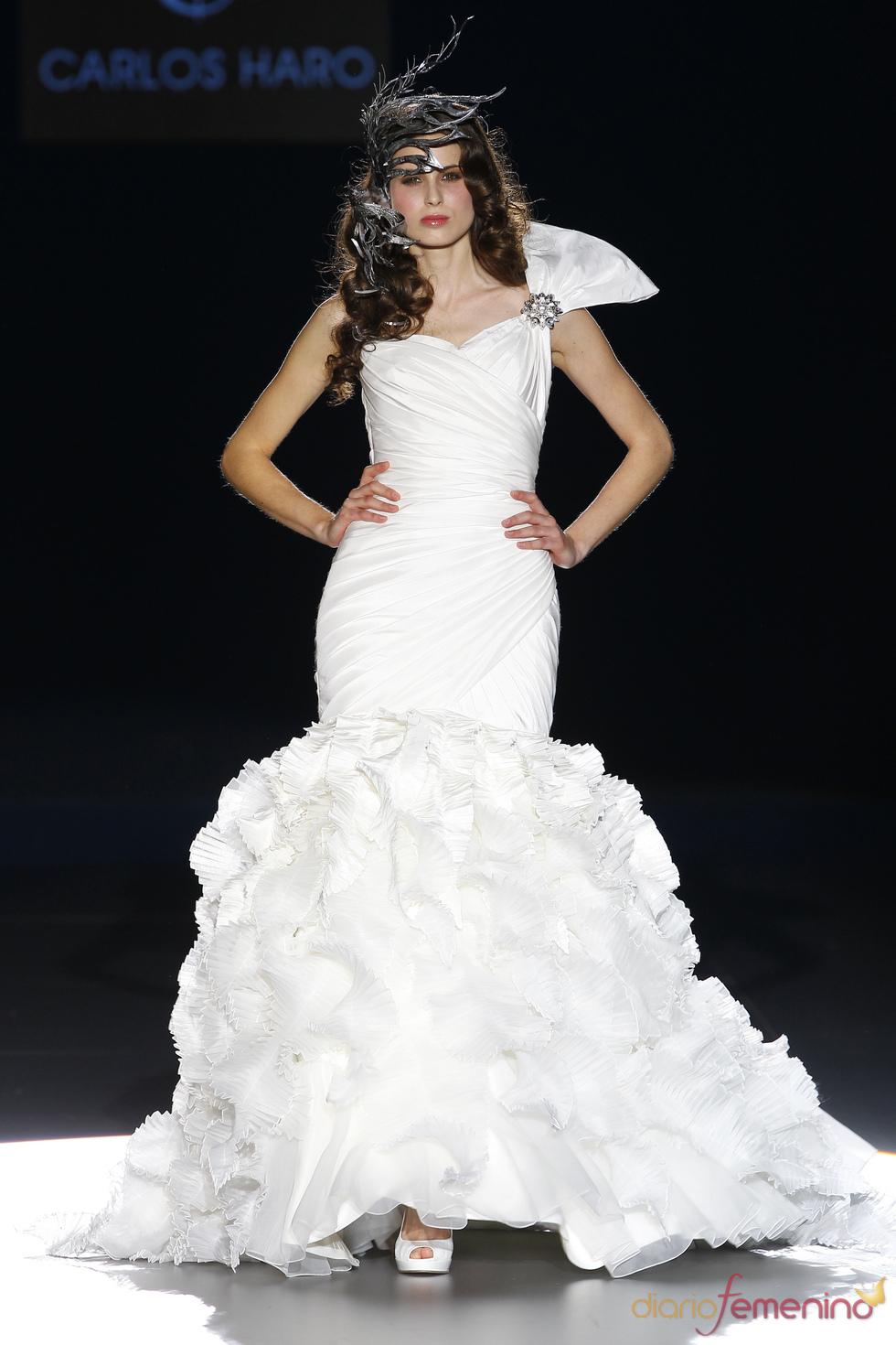 Vestido de novia de Carlos Haro