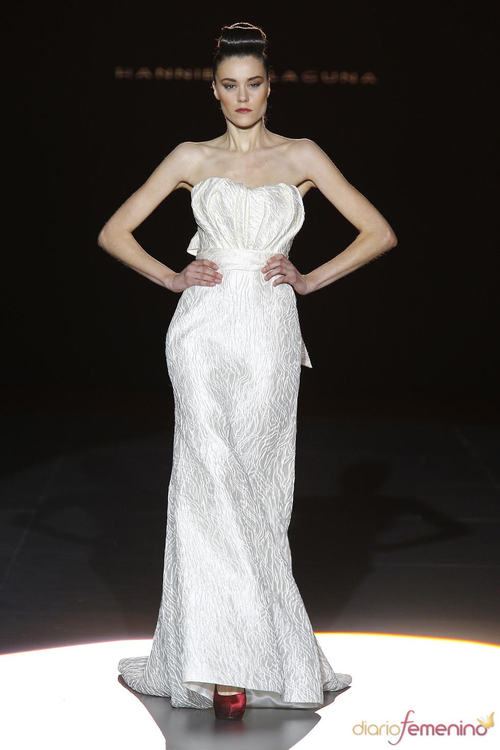 Original vestido de novia de Hannibal Laguna