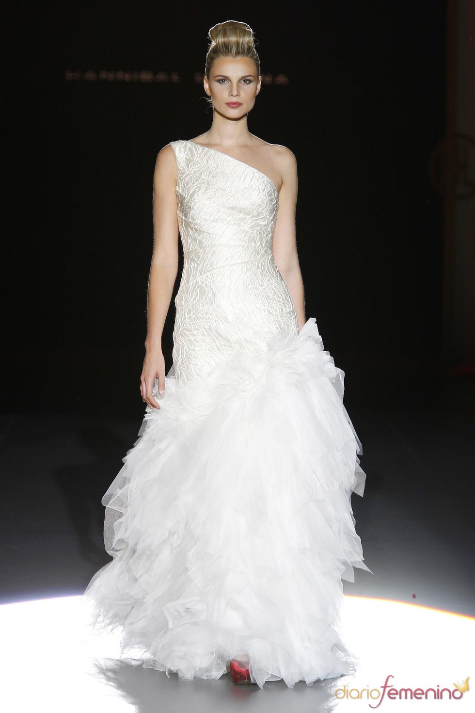 Hannibal Laguna y sus vestidos de novia