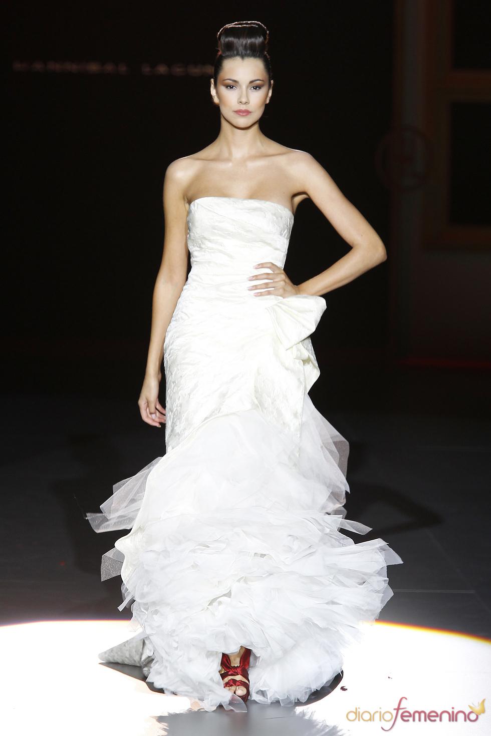 Vestido de novia de Hannibal Laguna