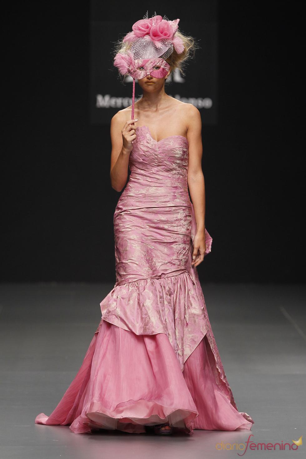 Vestido de fiesta de Mercedes Alonso