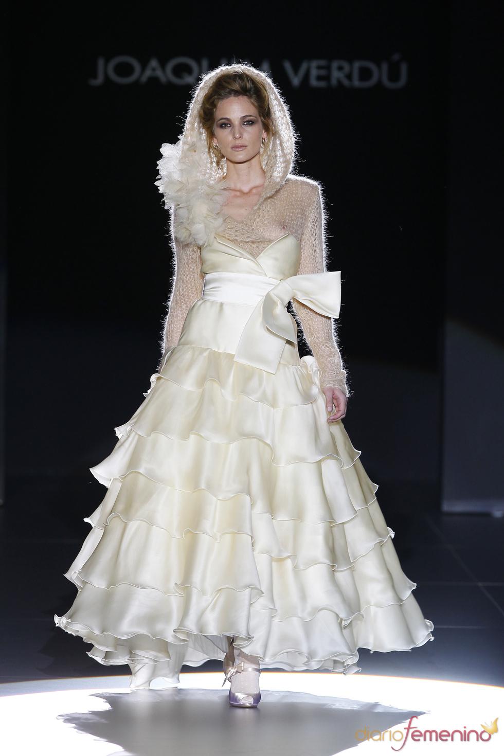 Joaquim Verdú viste a la novia de 2011