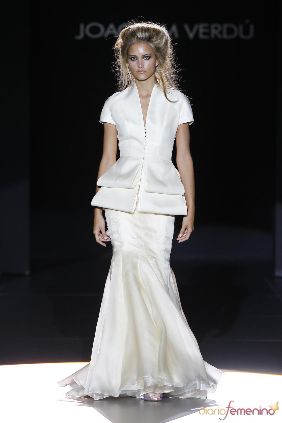 Moderno diseño para novia de Joaquim Verdú