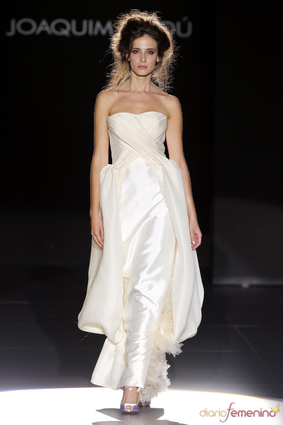 Vestido de novia de Joaquim Verdú