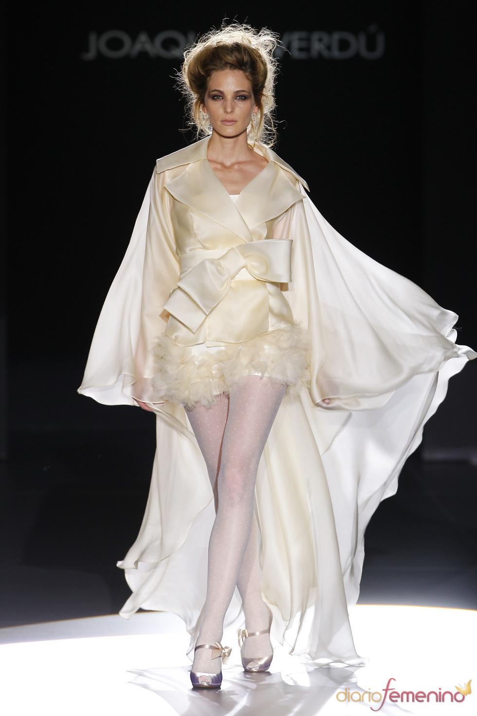 Seductor vestido de novia de Joaquim Verdú