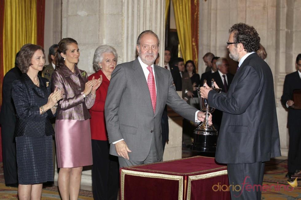 Juan Carlos de Borbón entrega los Premios del Deporte
