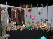 Artesanía en el mercadillo de Las Dalias en Madrid
