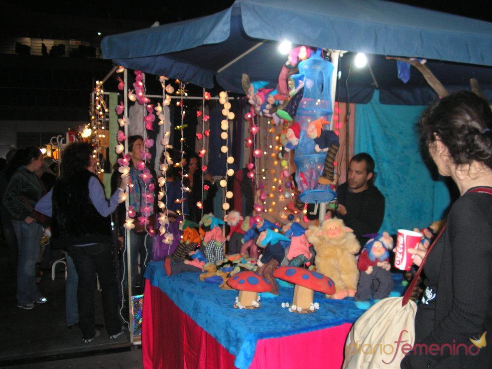 Luz y color en el mercadillo de Las Dalias en Madrid