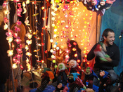 Juguetes infantiles en el mercadillo de Las Dalias - Madrid 2010