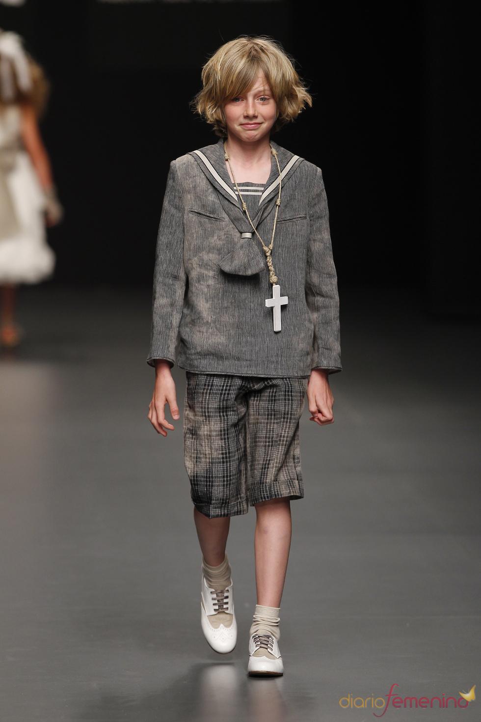 Hortensia Maeso: traje de primera comunión para niño