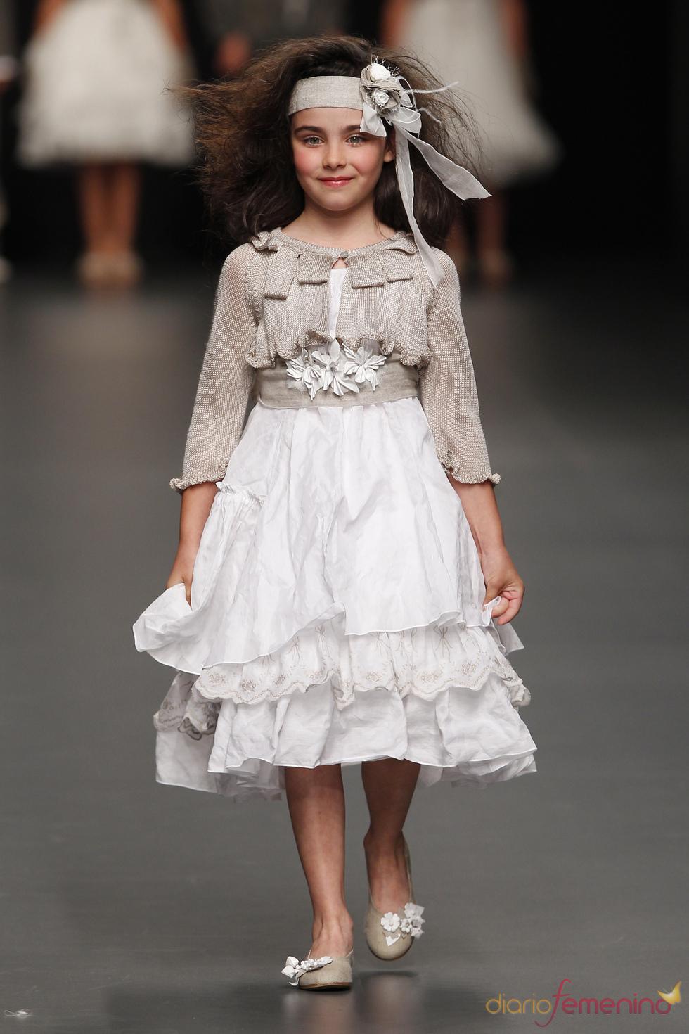 Hortensia Maeso: vestido de primera comunión