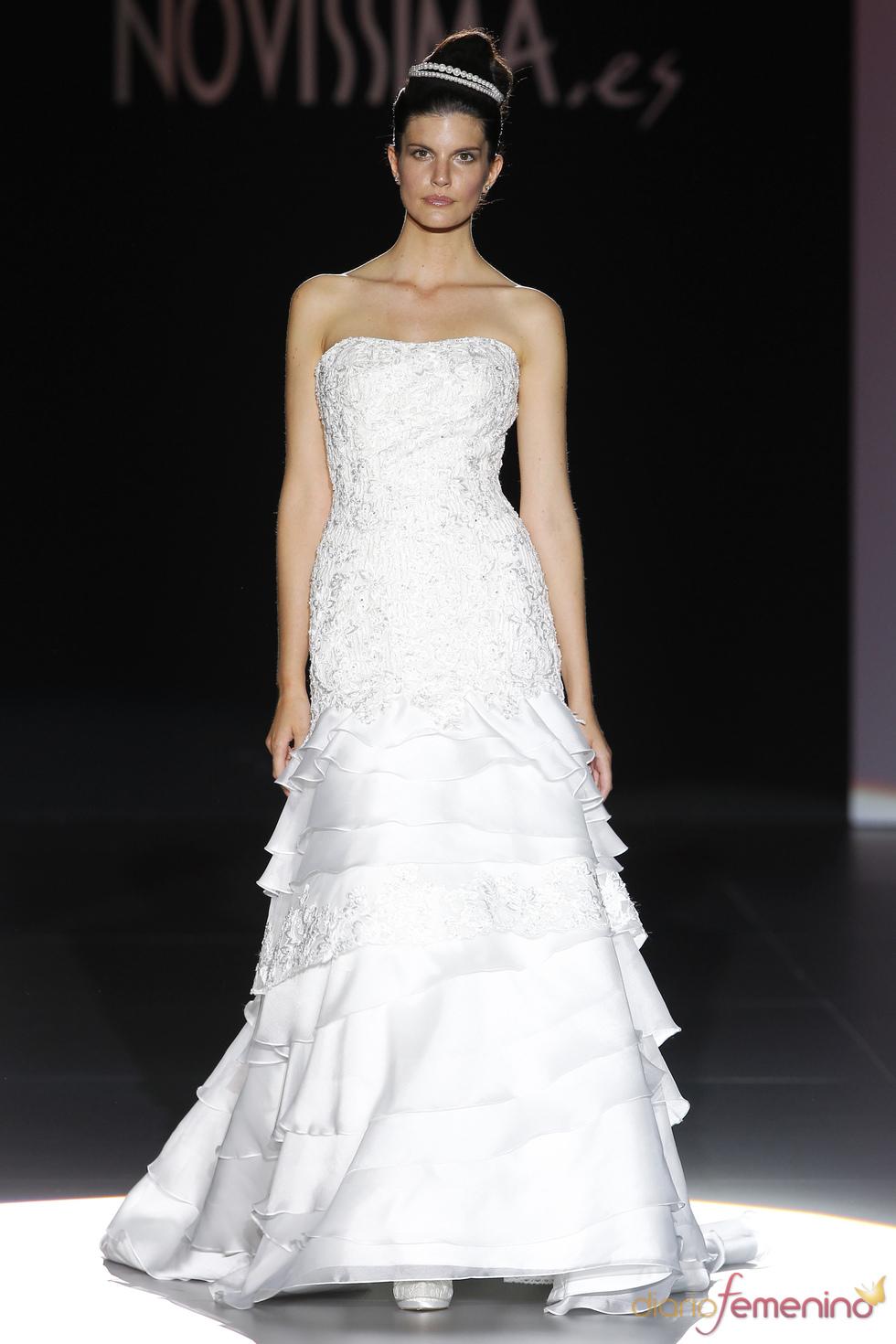 Novissima viste a la novia de 2011