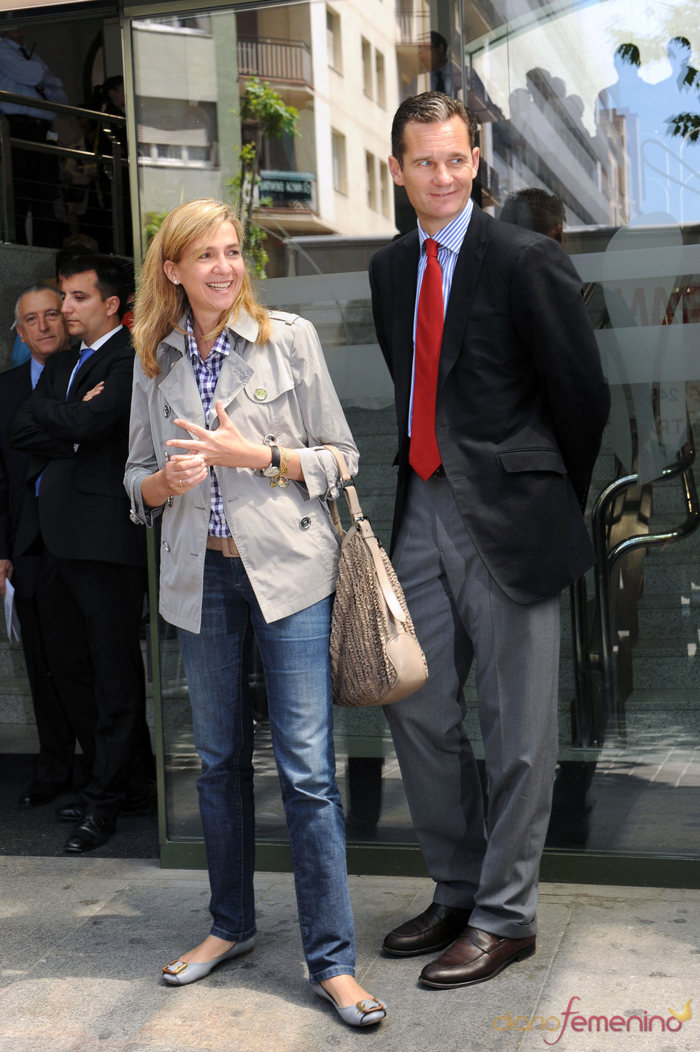 La Infanta Cristina e Iñaki Urdangarín juntos después de los rumores de separación