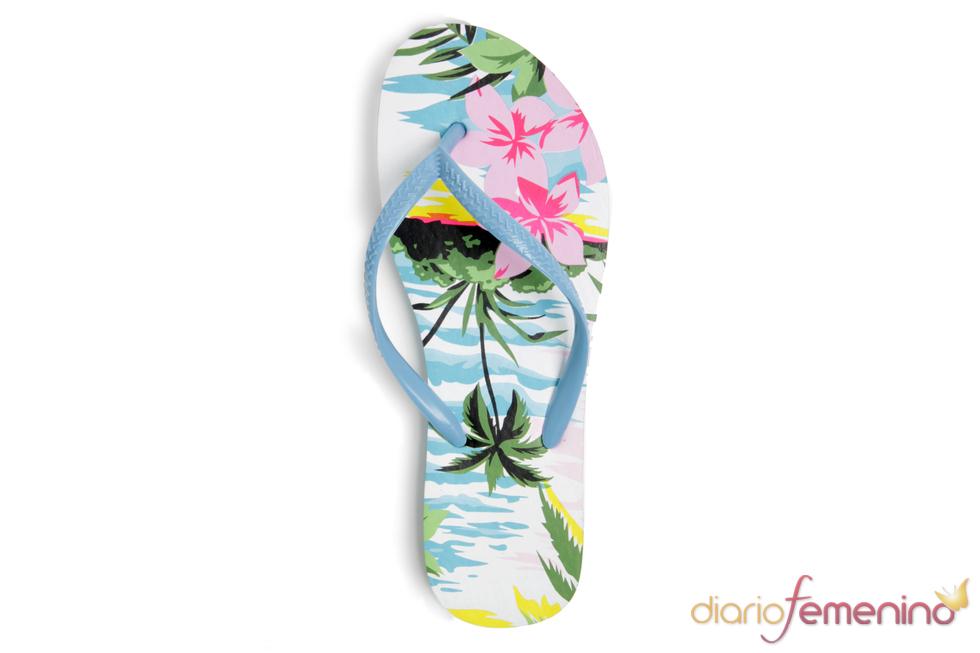 Chancla hawaiana de Blanco