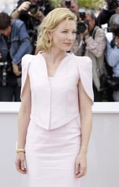 Cate Blanchett en el Festival de Cine de Cannes