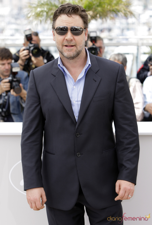 Russell Crowe en el Festival de Cine de Cannes