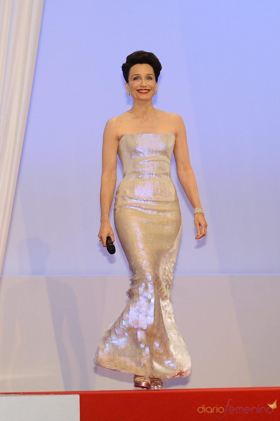 Kristin Scott Thomas en Cannes