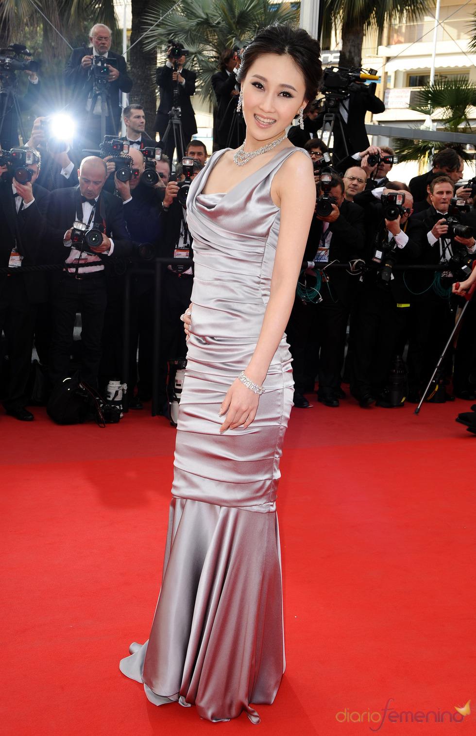 Lin Peng en el Festival de Cannes