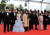 El jurado del Festival de Cine de Cannes