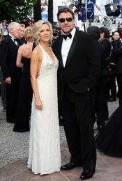 Russell Crowe y Danielle Spencer en Cannes