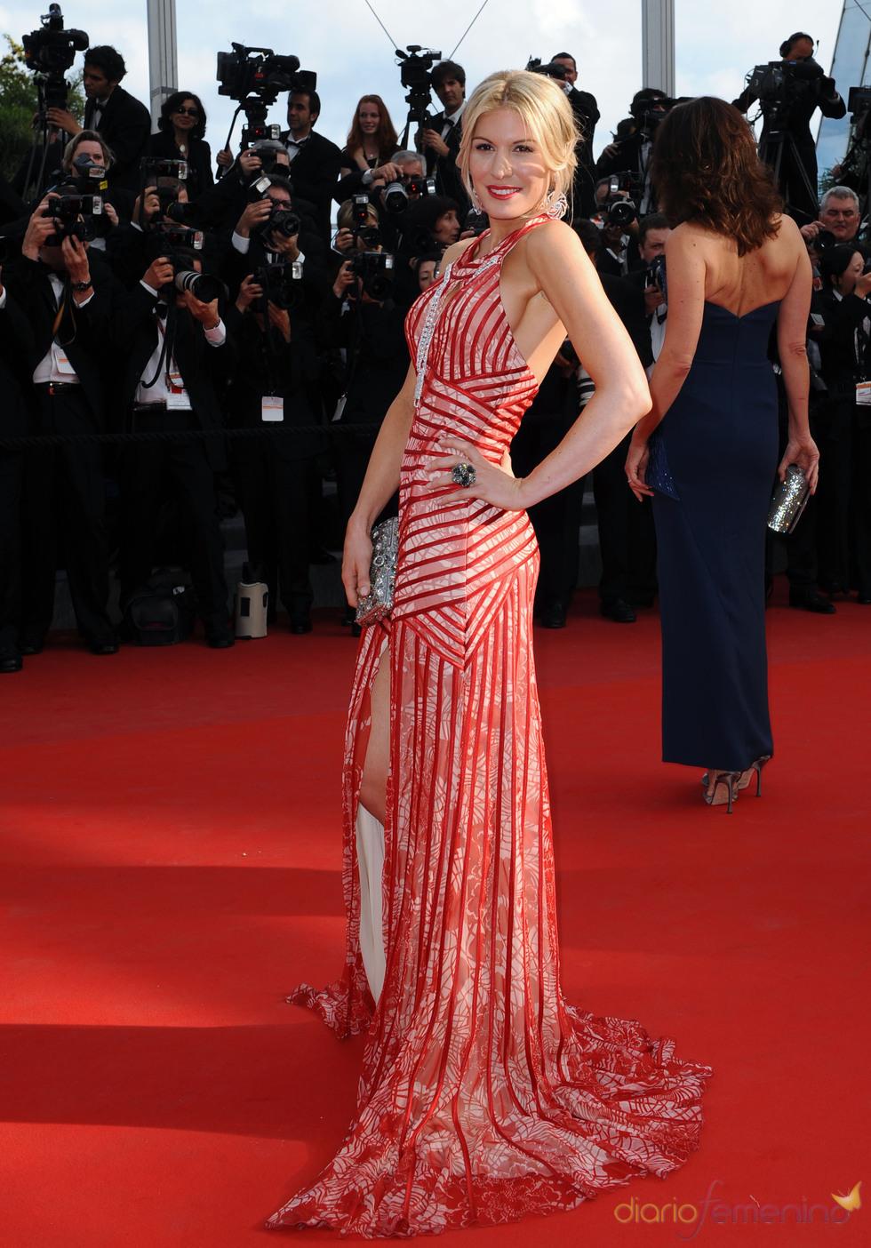 Hofit Golan en el Festival de Cine de Cannes