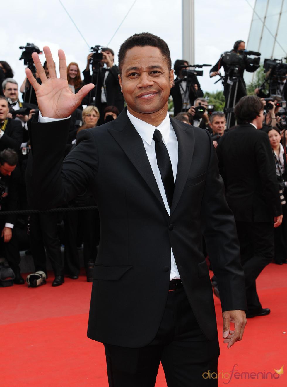 Cuba Gooding Jr. en el Festival de Cine de Cannes