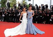 Eva Longoria y Aishwarya Rai en Cannes