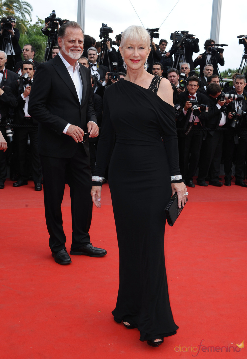 Helen Mirren en el Festival de Cine de Cannes