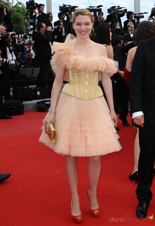 Lea Seydoux en el Festival de Cine de Cannes