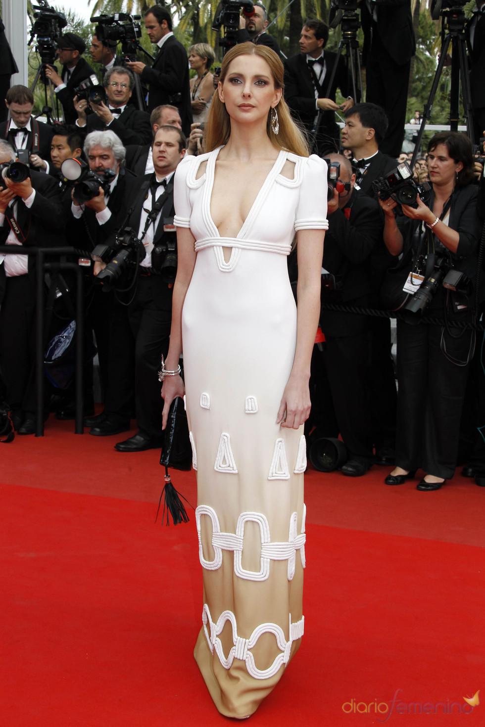 Frederique Bel en el Festival de Cine de Cannes