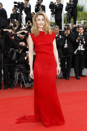 Julie Gayet en el Festival de Cine de Cannes