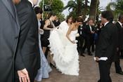 Eva Longoria en Cannes, ¿un vestido demasiado largo?