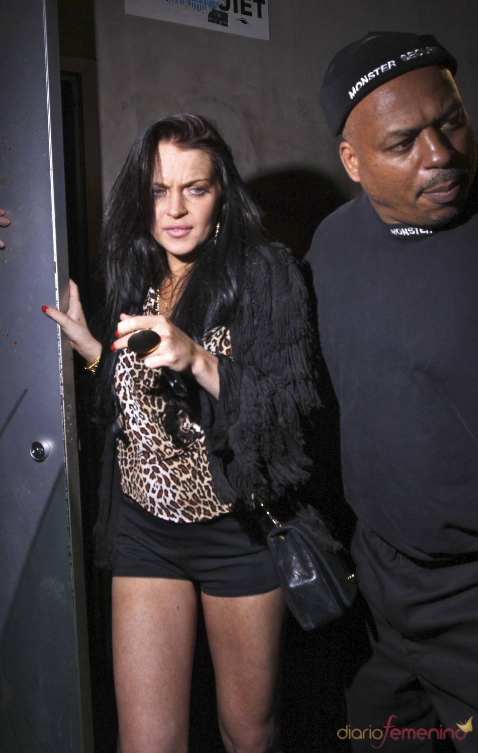 Lindsay Lohan se pelea von Avril Lavigne