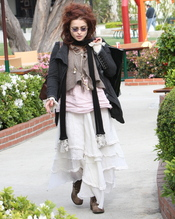 El look imposible de Helena Bonham Carter