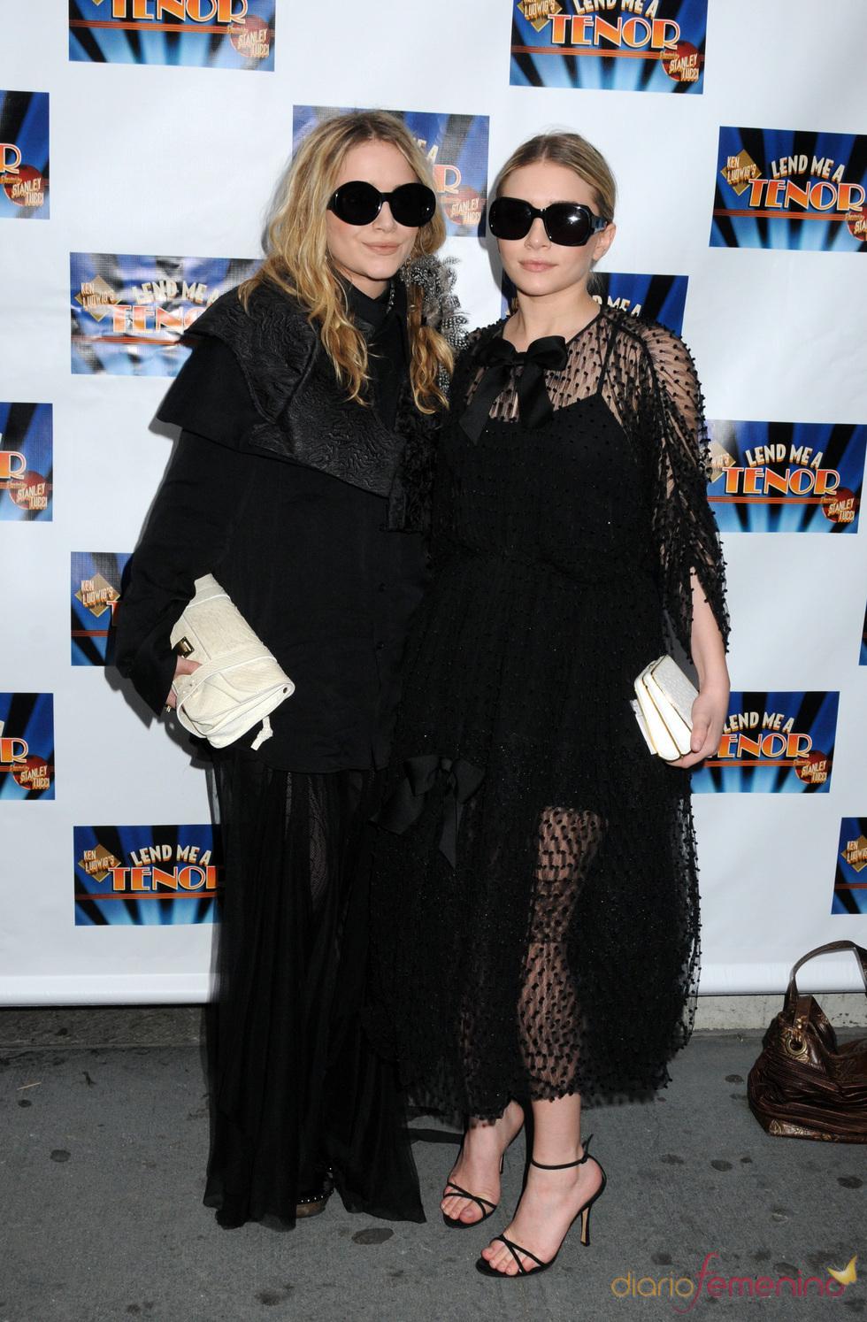 Las gemelas Olsen y su estilismo XXL
