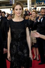 Pilar López de Ayala en el Festival de Cine de Cannes
