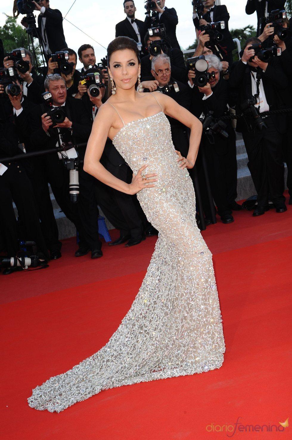 Eva Longoria, segunda jornada en Cannes
