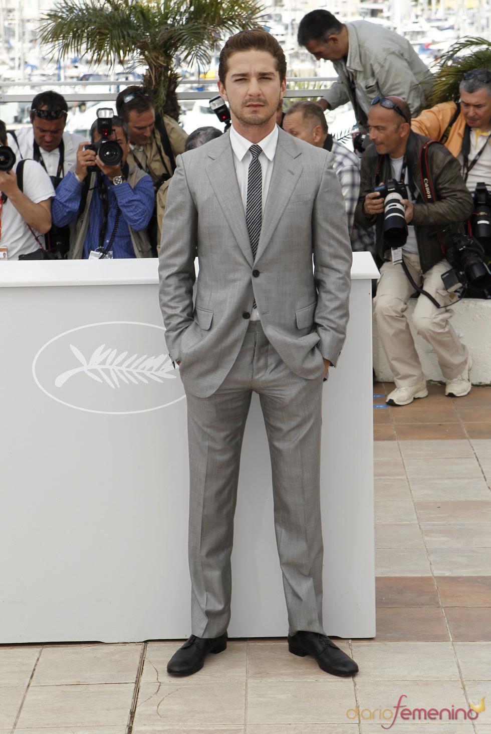 Shia LaBeouf en el Festival de Cine de Cannes