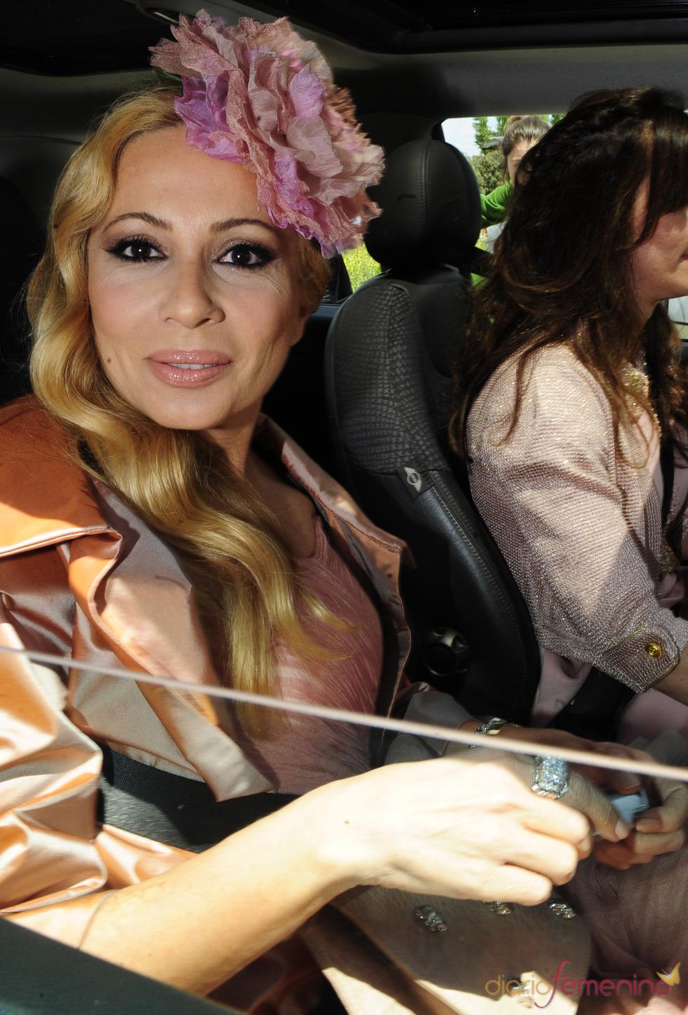 Marta Sánchez, invitada a la boda de Lolita
