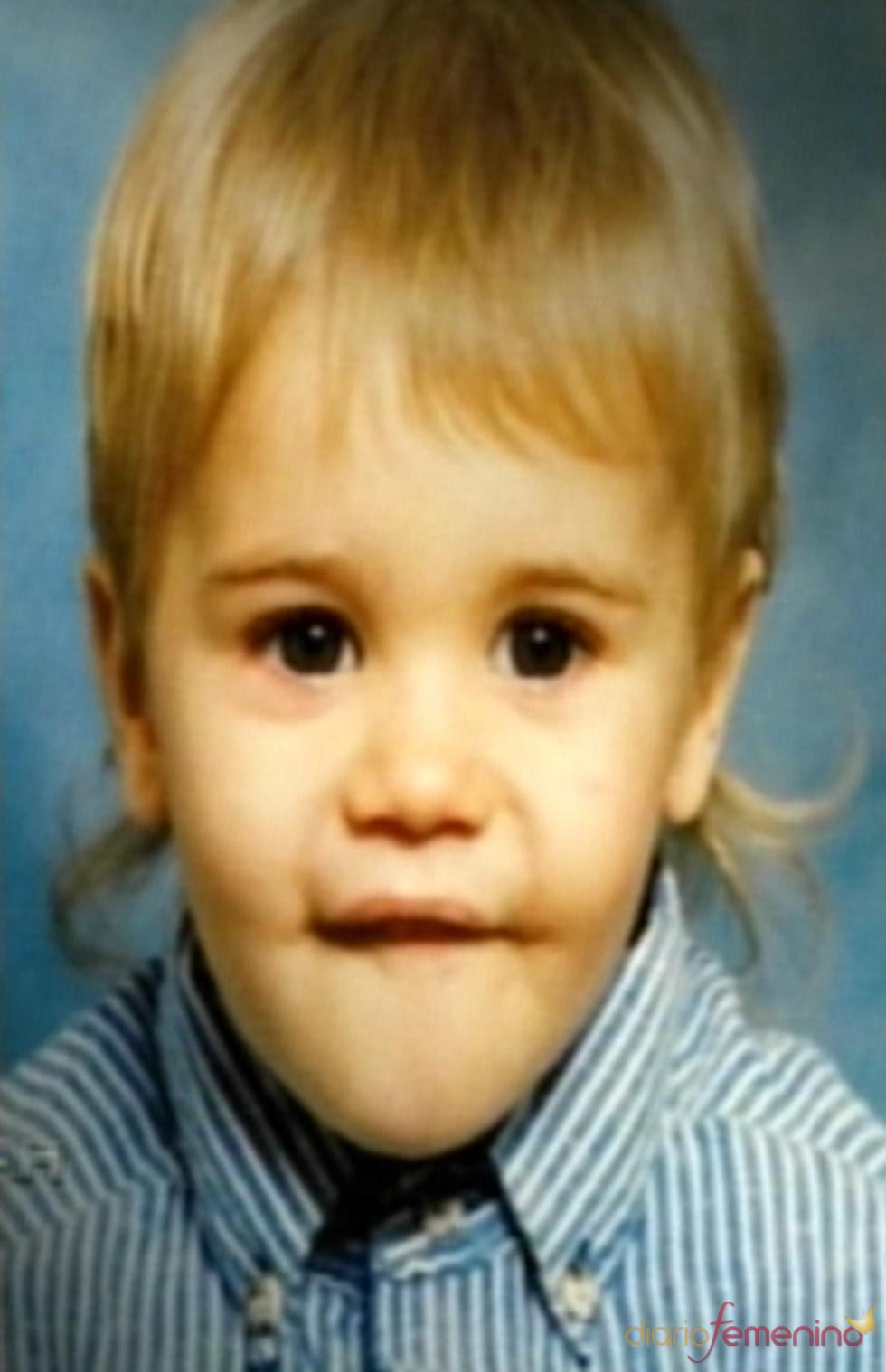 Justin Bieber de bebé
