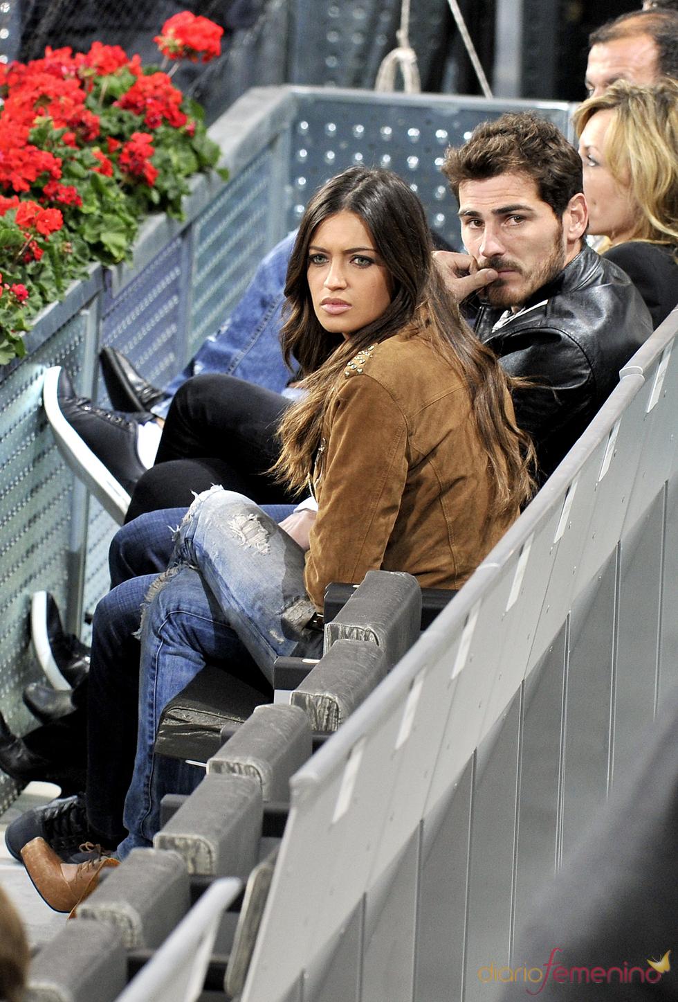 Sara Carbonero e Íker Casillas, pillados en el Madrid Open de Tenis