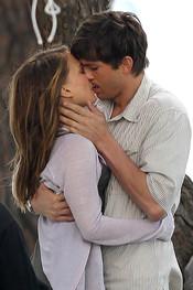 Ashton Kutcher y Natalie Portman ruedan juntos