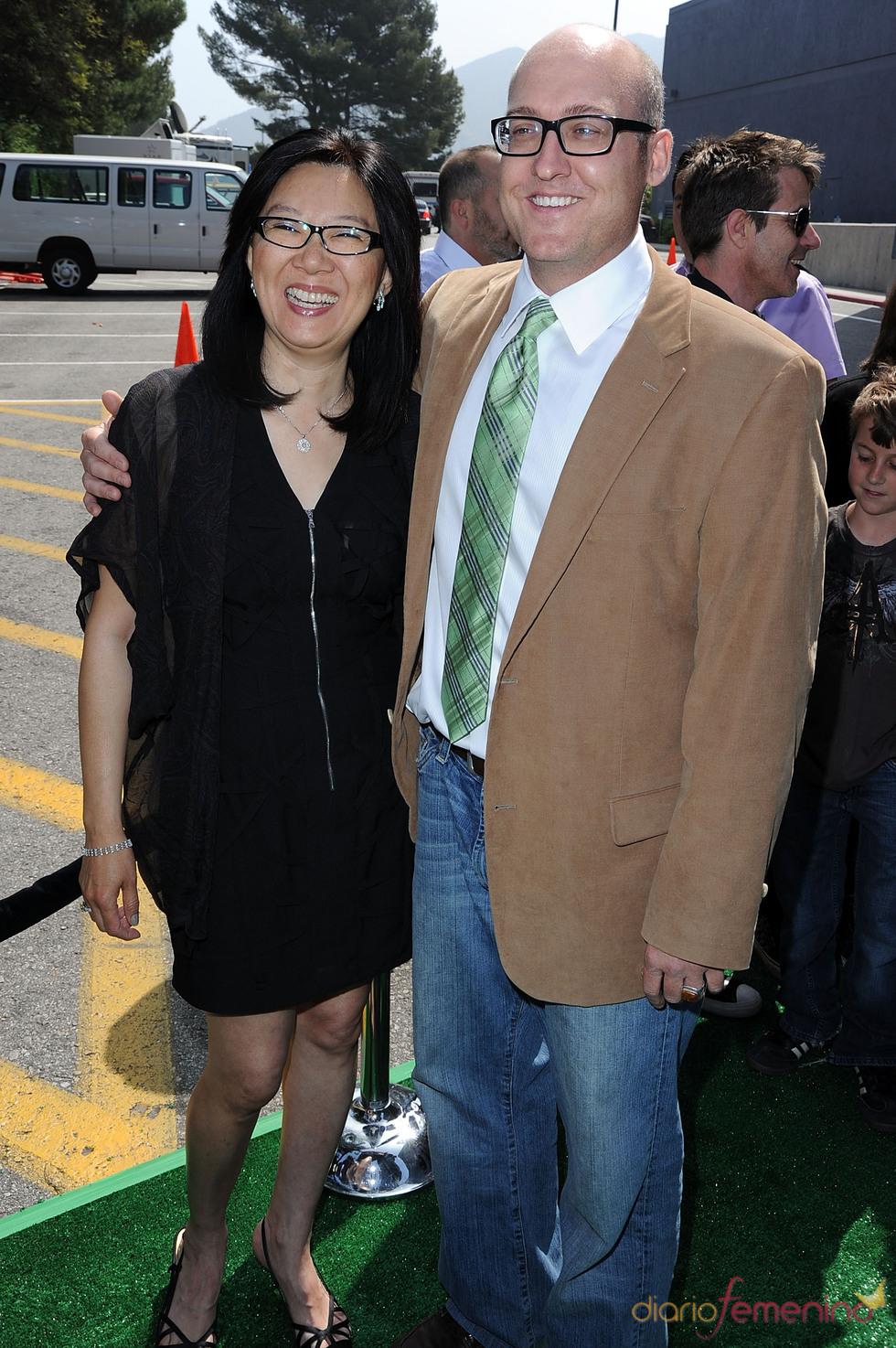 El director y la productora de Shrek Forever After'
