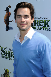 Matthew Bomer en el estreno de 'Shrek Forever After'