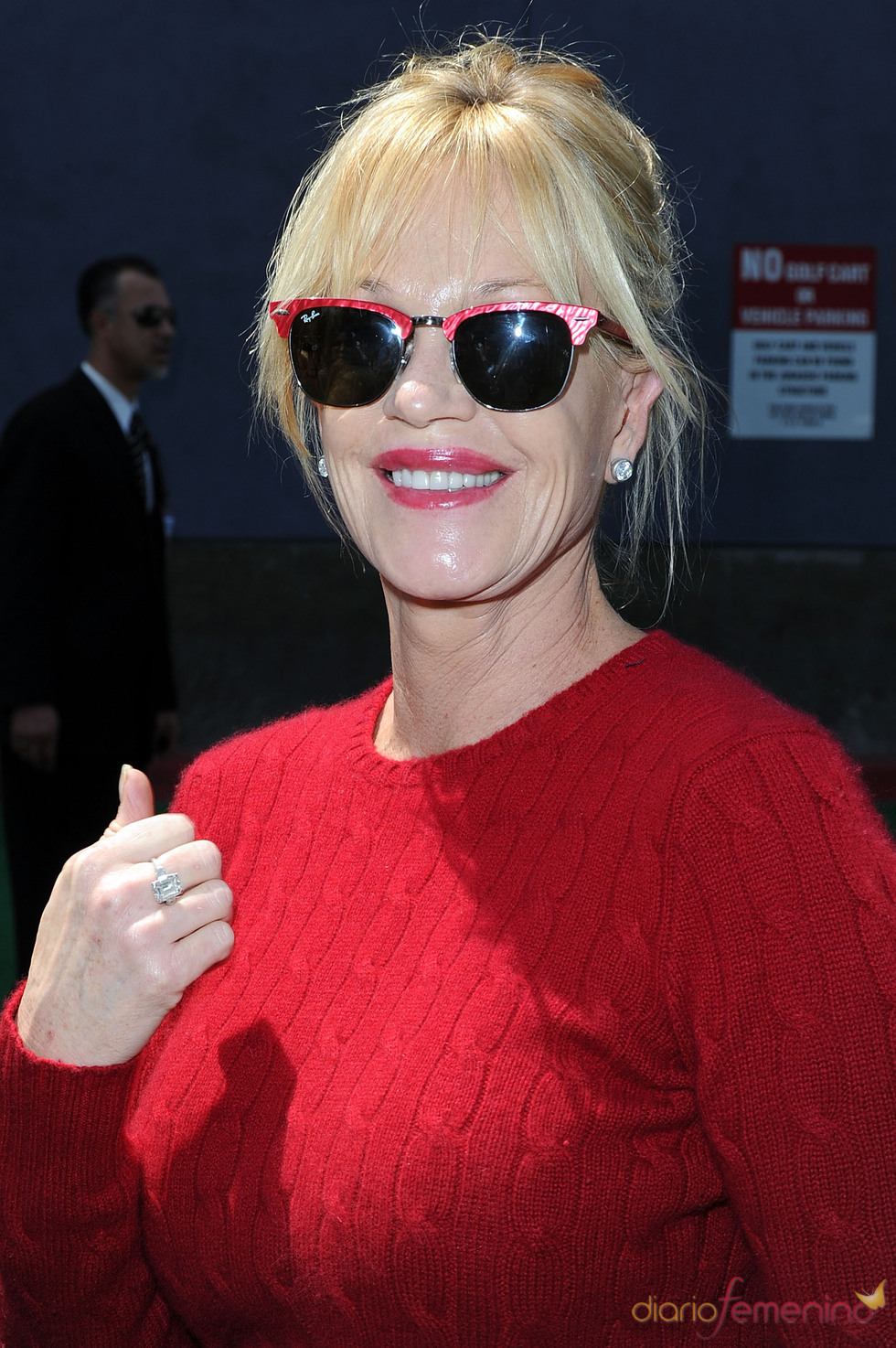 Melanie Griffith, a la moda en el estreno de 'Shrek Forever After'