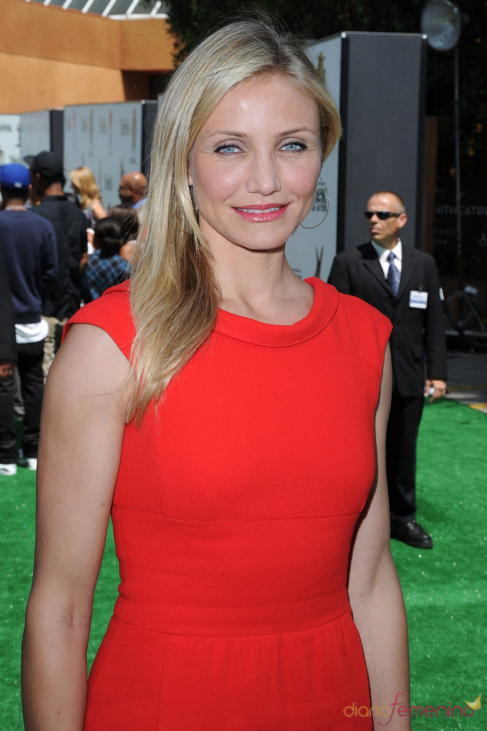 Cameron Diaz, radiante en la premiere de 'Shrek Forever After'